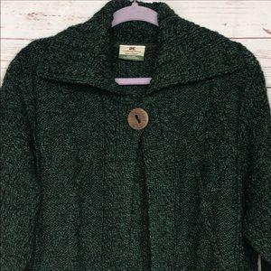 Carraigdonn Made In Ireland Wool Knit Sweater Sz L